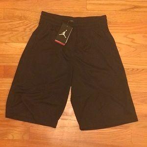 Jordan Rise Basketball Shorts Triple Black